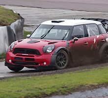 Liam Doran tests the Prodrive WRC Mini by motapics
