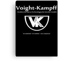 Voight Kampff - VK - Offworld Colonies Canvas Print