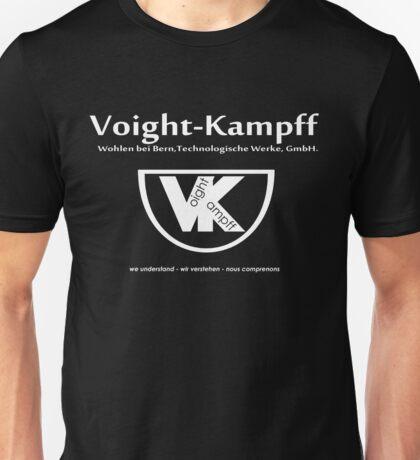Voight Kampff - VK - Offworld Colonies Unisex T-Shirt