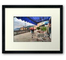 Camogli Walk Framed Print