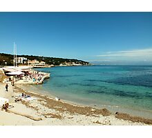 The view from La Garoupe, Cap d'Antibes Photographic Print