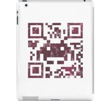 QR invader iPad Case/Skin