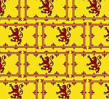 Smartphone Case - Flag of Scotland (royal standard) - Patchwork by Mark Podger