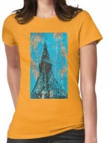 TOKYO TOWER. Womens Fitted T-Shirt