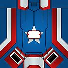 Iron Patriot War Machine by Rhaenys