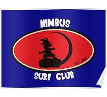 Dragon Ball Z Nimbus Surf Club Poster