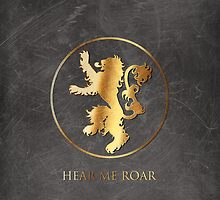 House of Lannister Sigil by sm1215