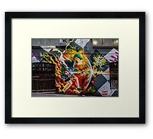 ACDC Lane -  Angus Young 2015 Framed Print