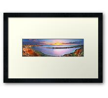 The end of a fruitful day Framed Print