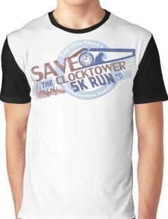 Save the Clocktower 5k Run Graphic T-Shirt