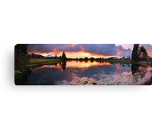 Living with nature Canvas Print