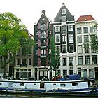 Living in Amsterdam by Rachel Gagne