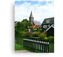 Lovely Garden View Canvas Print