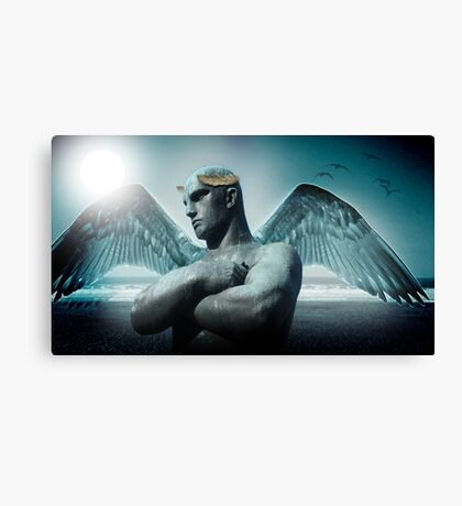 the torment of Icarus Canvas Print