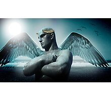 the torment of Icarus Photographic Print