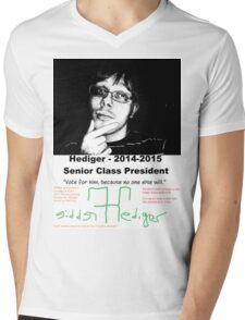 Freddie Hediger Campaign Mens V-Neck T-Shirt