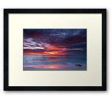 Cottesloe Sunset Framed Print