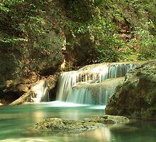 Erawan Waters, Thailand by DavePrice