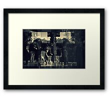 Love at the Lights Framed Print