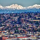 View from Magnolia (Northwest Seattle) - 2 by Gary Rea