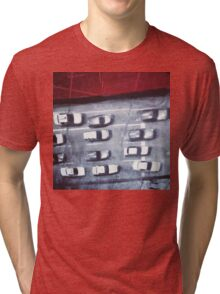 cars from above Tri-blend T-Shirt