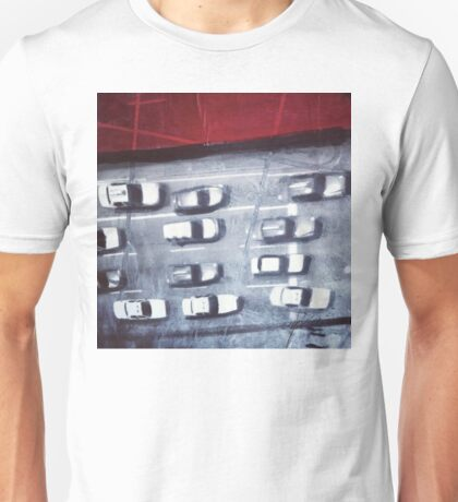 cars from above Unisex T-Shirt