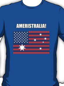 Ameristralia Flag (Text One) T-Shirt