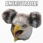 Ameristralia Mascot (With Text #1) by HeyHaydn