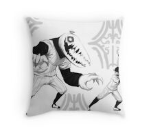 OFF - Battle Time Throw Pillow