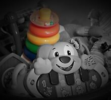 Memories of Children's Toy Rings by Sherry Hallemeier