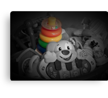 Memories of Children's Toy Rings Canvas Print