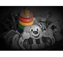 Memories of Children's Toy Rings Photographic Print