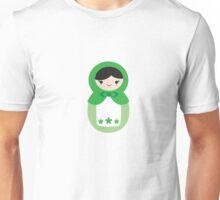 Matryoskha Doll - Peppermint Green Unisex T-Shirt
