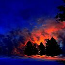 Fiery Night ! by Elfriede Fulda