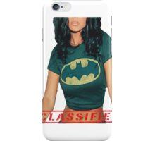 Classified - The Bat  iPhone Case/Skin