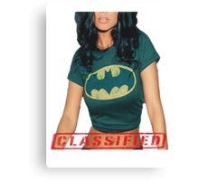 Classified - The Bat  Canvas Print