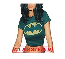 Classified - The Bat  Photographic Print