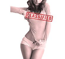 Classified - Cloudy Cali Photographic Print