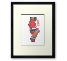 Classified - The Puck Game Framed Print