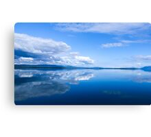 Blue Mirror Canvas Print