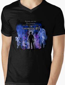 Police Tribute Mens V-Neck T-Shirt