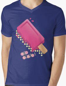 Cute Popsicle Cartoon Mens V-Neck T-Shirt