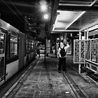 Bus Stop, Downtown Seattle by Gary Rea