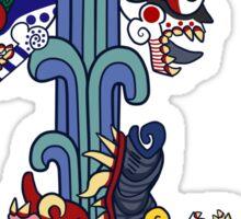 Xolotl (Colour) Sticker