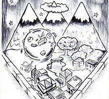 Katamari Goes For A Stroll (Through the Valley) by Ben DeFever