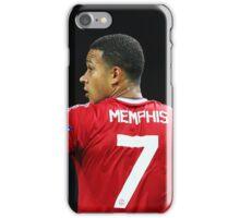 Memphis Depay Man Utd no.7 iPhone Case/Skin