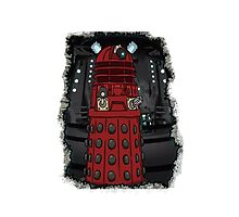 Doctor Who Dalek Photographic Print