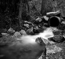 Draining from the Mountain by Snapsgoodpics
