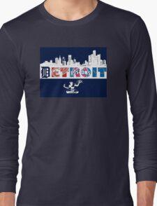 Detroit Sports Long Sleeve T-Shirt