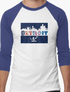 Detroit Sports Men's Baseball ¾ T-Shirt